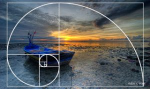 Boat photo composed using the Golden Spiral