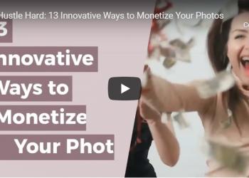 Innovative ways to Monetize Photography