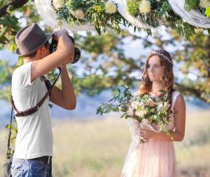 The best way to market yourself as a wedding photographer is through your previous clients.