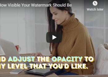 Watermark Opacity: