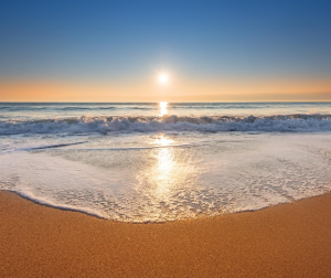 Shoot your beach photography during the golden hour.