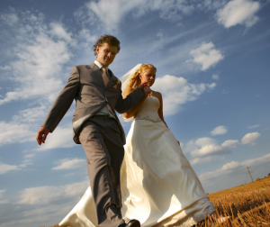 Watermarking protects wedding photos from being used without permission.