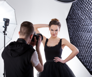 Make sure you have the right equipment when doing fashion photography.