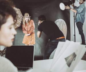 Shadowing a professional can help you secure photography customers.
