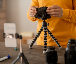 Using a tripod could help you take better stock photography images.