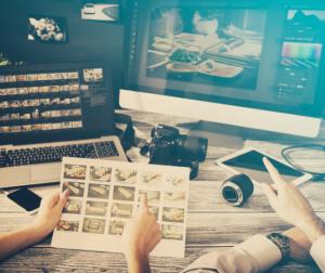 Watermarks help prevent photo theft.