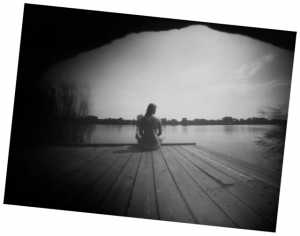 The pinhole camera is a simple piece of equipment.