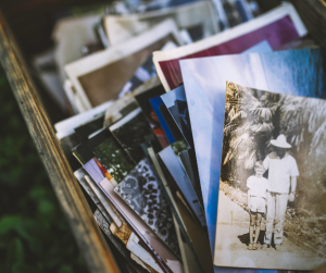 Make sure you store old photos well.