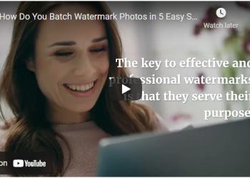 Batch Watermarking