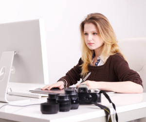 Watermarking images is an important step in the process of copyrighting them.